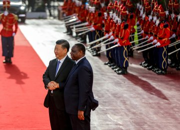 On Africa Tour, China's Xi Pledges Stronger Relations