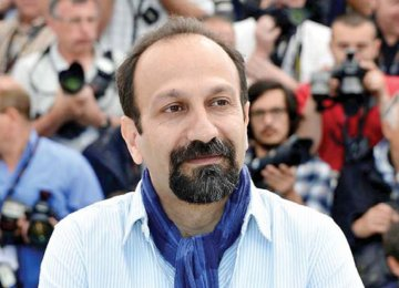 Farhadi Talks About His Award, Next Film