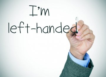 Call to Recognize Int'l Left-Handers Day