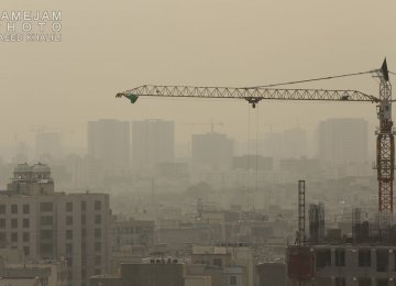 Tehran Air Unhealthy for All Groups