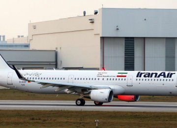 Iran Receives 1st Airbus Jet