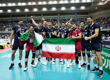 Iran Defends Asian Volleyball Crown