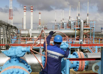 Most of the Russian company's claims against Naftogaz relate to fines for insufficient withdrawal of gas by the Ukrainian side in accordance with the 'take-or-pay' rule.