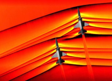 First-Ever Photos of Merging Supersonic Shock Waves