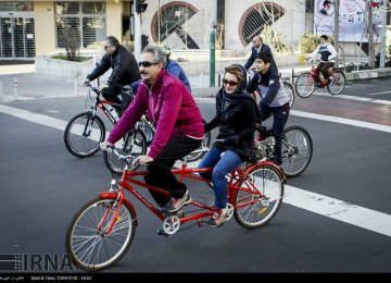 Tehran Municipality Promoting Walking and Bicycling