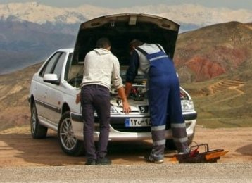 On-Demand Emergency Car Repair Service in Iran