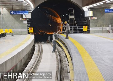 New Subway Station Launched in Tehran