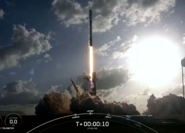 SpaceX Rocket Launches Starlink Fleet, Two Rideshare Satellites