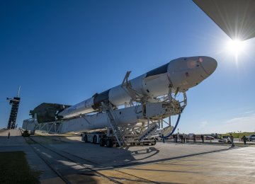 Spacex Cargo Ship Departs Space Station After Stormy Delays