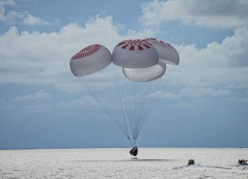 SpaceX's Private Inspiration4 Crew Returns to Earth