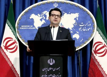 Iran Not Keen on Meddling in Iraqi Affairs