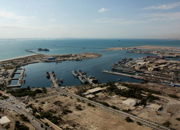 Shahid Rajaee Port Handles 8.6m Tons of Goods in Two Months
