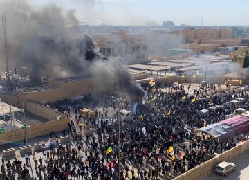 Baghdad Protesters Storm US Embassy