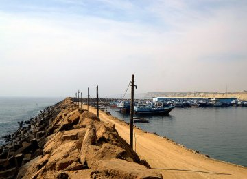 Chabahar, located in Sistan-Baluchistan Province on Iran's southeastern coast, is roughly 550 nautical miles from the Kandla port and about 790 nautical miles from Mumbai.