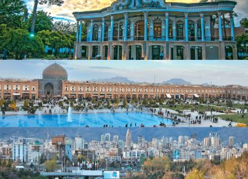 Le Figaro advises French tourists to visit Tehran, Isfahan and Shiraz.