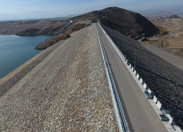 3 Dams Open in Ardabil Province