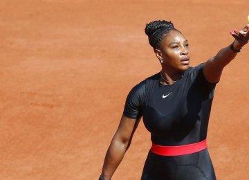Serena Williams Wins in Grand Slam Return