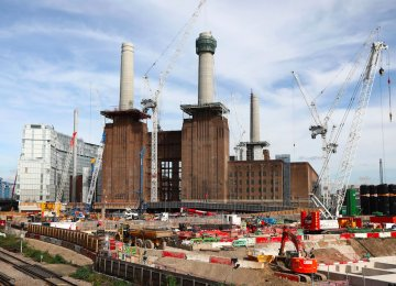 IHS Markit said the murky economic outlook for Britain weighed on commercial building, with clients delaying spending decisions or even scaling back projects.