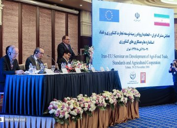 European Delegation in Iran to Promote Agricultural Ties