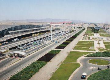 Over 70% of international flights in Iran are hosted by IKIA.