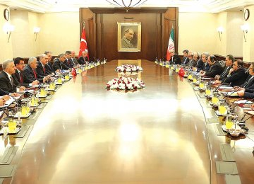 A delegation headed by First Vice President Eshaq Jahangiri was in Ankara on Thursday and reached several deals.