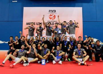 Iran Wins First-Ever FIVB World Championship