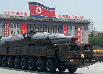 North Korea Not Capable of Tipping Missile With Nuke