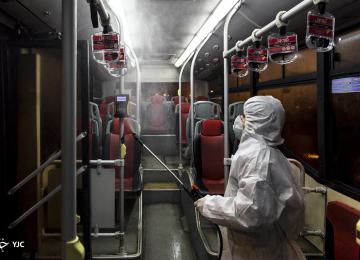 Transport Fleet Disinfection to Control Spread of Coronavirus