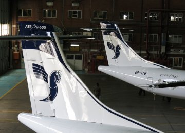 Iran Air to Receive 2 ATR Planes in September  - Photo Alireza Izadi