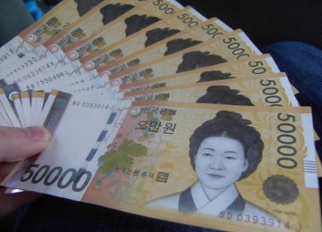 S. Korea Money Supply Up 9.1%