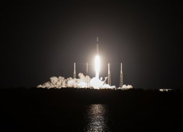 SpaceX Launches Cargo Toward Space Station