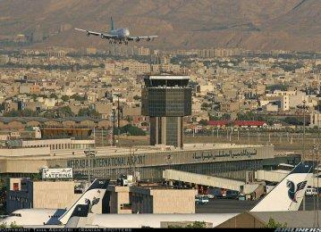 Domestic Flights From Mehrabad Up 25 Percent