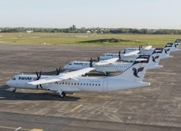 Iran Air Takes Delivery of 4 ATR 72-600s