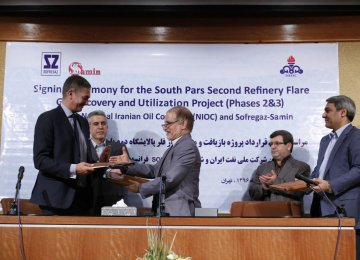 French Co. in $42m Deal to  Reduce SP Gas Flaring