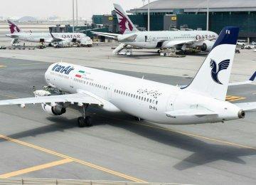 IranAir Schedules Flights to Doha