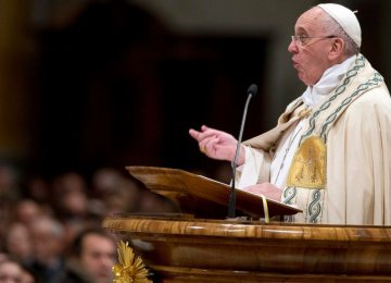 Pope Urges Action on Youth Unemployment