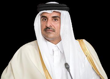 Qatari Emir Calls for Broadening Ties