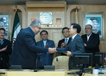 Iran, South Korea Sign €720m Deal to Build 450 Wagons Trains in Iran