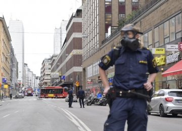 Three Killed as Truck Plows Into Stockholm Store