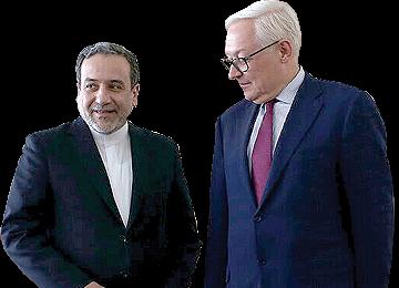 Russian Deputy FM in Tehran to Discuss Nuclear Deal
