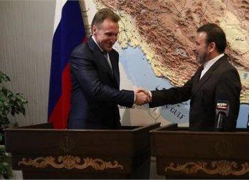 Russia, Iran Ready for Free Trade Talks