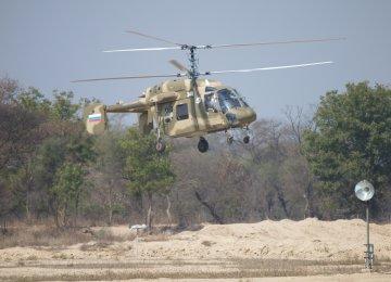 Russian Chopper Tested Successfully in Iran