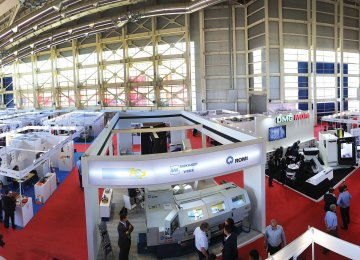 Some 111 exhibitors took part in the first edition of AMB Iran at the Boostan Goftegoo Exhibition Center in Tehran from May 30 to June 1, 2016. (File Photo)