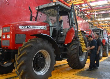 Iran is a prominent manufacturer of tractors and combine harvesters that are exported to the Middle East and East Asia.