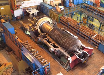 Iran's MAPNA Unveils Improved,  Best-in-Class Gas Turbine