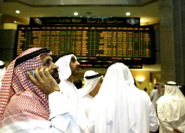 Dubai Stocks Lead Mideast Declines as Oil Slumps