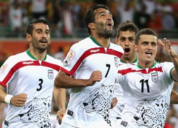 Iran Beats Bahrain 2-0 in Melbourne