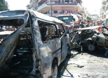 10 Killed in Syria Car Bomb