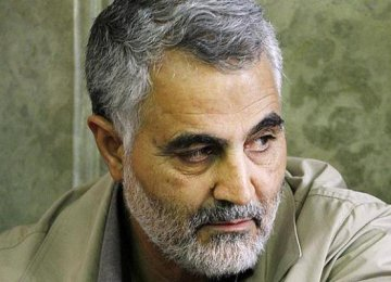 Soleimani at the Front Lines