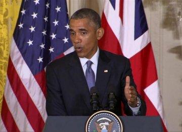 Obama Vows to Veto Fresh Iran Sanctions